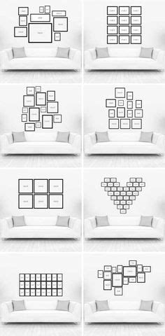 Photo Wall Collage Without Frames: 17 Layout Ideas | Cool