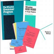 Winston Grammar Advanced  Set  Exodus Books