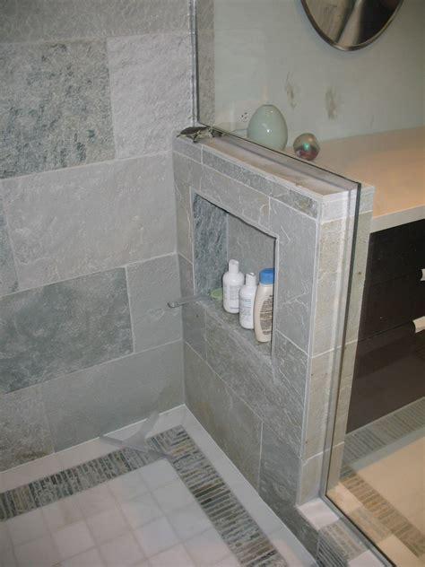 pony wall   cubby  smart   master bath