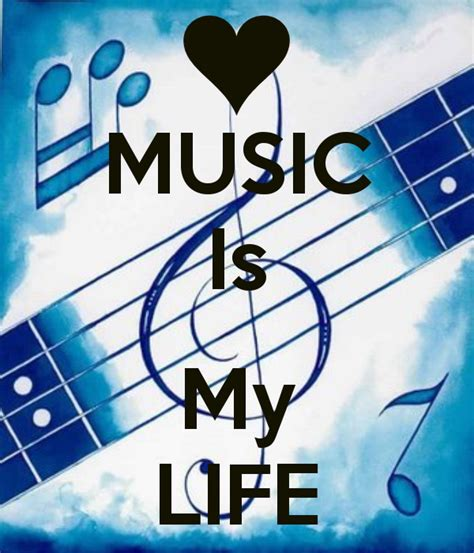 Image Of Music Is My Life Desicommentscom