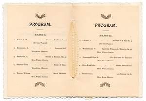 wedding ceremony program template word graduation program template beepmunk