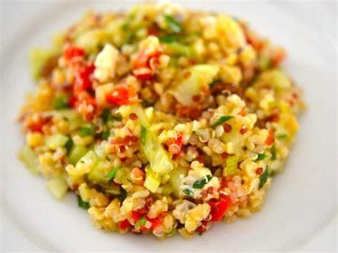 les meilleures recettes de quinoa  taboule