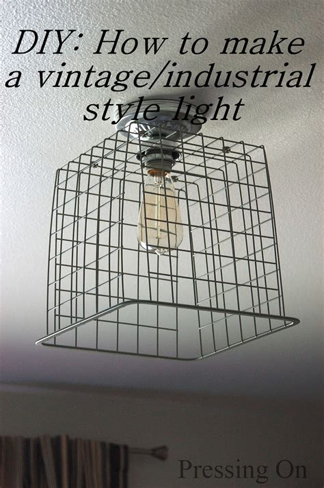 industrial ceiling light covers pressing on diy vintage industrial style ceiling light
