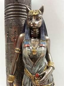 bast cat goddess bast statues bastet cat goddess also sistrum