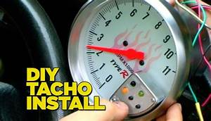 How To Install A Tacho Gauge