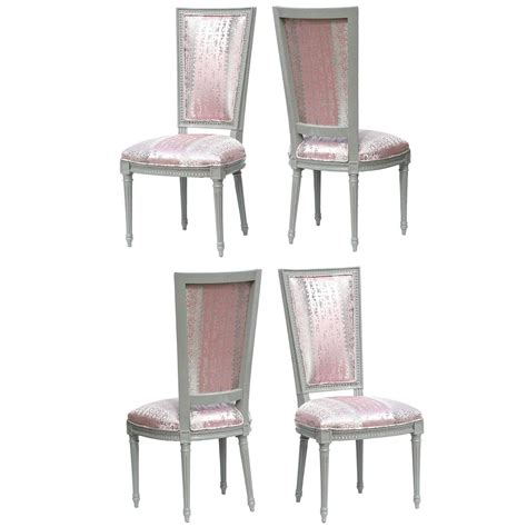 louis xvi dining chairs in donghia for sale at 1stdibs