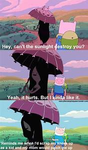 Marceline quote... Finn And Marceline Quotes