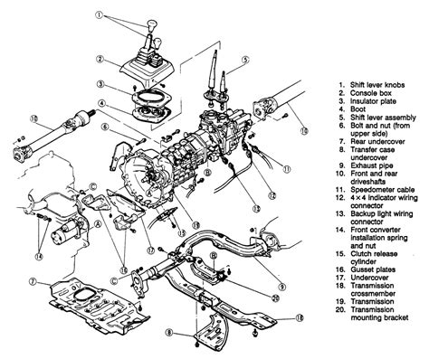 1998 Ford F150 Automatic Transmission Diagram by Repair Guides Manual Transmission Manual