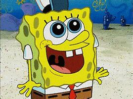 happy friday gif  spongebob squarepants find share