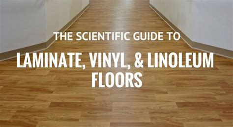 How To Clean Laminate, Vinyl or Linoleum Floors