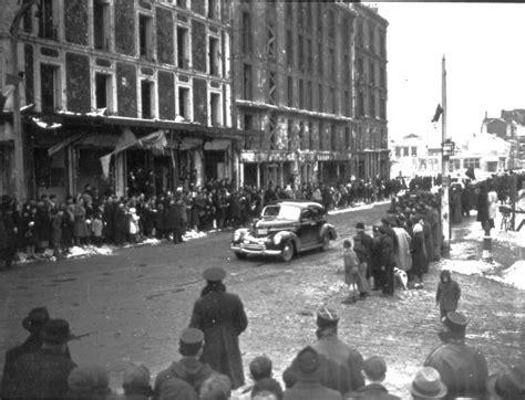 bureau de poste noisy le sec le général de gaulle à noisy le sec 28 janvier 1945