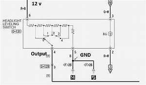 Manual Headlight Leveling