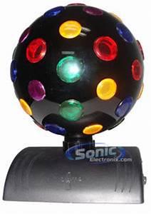 Disco Ball Rotating Light Lava Lite 1810 Multi Color 360 Degree Rotatable Disco Ball