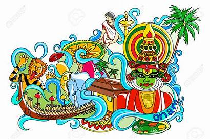 Onam Kerala Clipart Celebrate Why Significance Happy