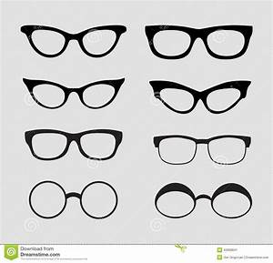 Glasses Vector Set. Retro, Hipster Styles Stock Vector ...