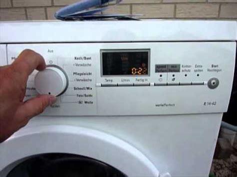 siemens e14 4s waschmaschine waschmaschine teil 9 fehler siemens waschmaschine auslesen