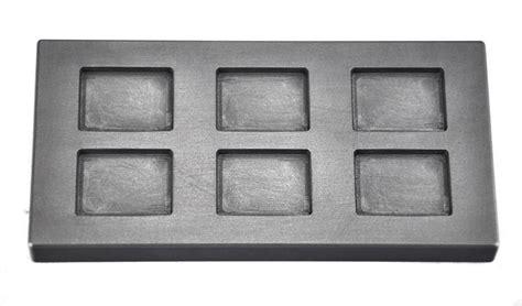 graphite ingot molds  oz silver bar refining pour silver bar moldsmelting casting