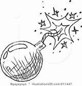 Bomb Clipart Clip Sheets Yayayoyo Rf Coloring Sample Illustrationsof Drawing sketch template