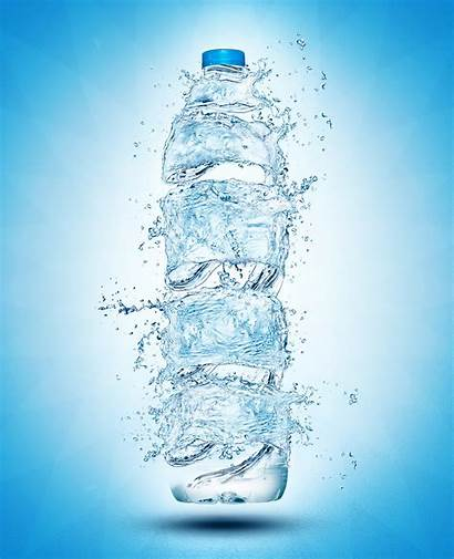 Water Effect Poster Posters Behance Advertising Creative