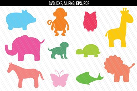 Layers can be stacked and attached with glue stick or foam tape/glue dots for dimension! Baby Animal Mandala Svg Printable - Layered SVG Cut File ...