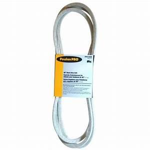 Poulan Pro 46 U0026quot  Manual Clutch Deck Belt 575937701