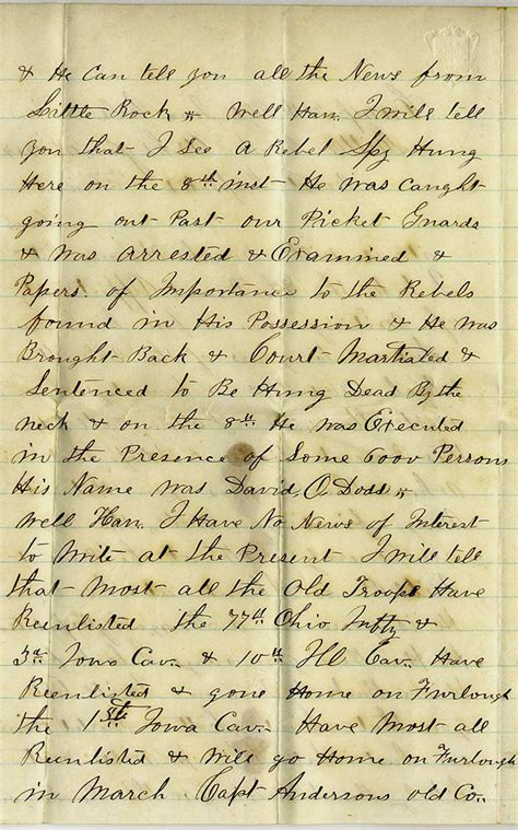 civil war letters civil war letters 12971