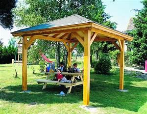 Fabriquer Une Tonnelle De Jardin En Bois