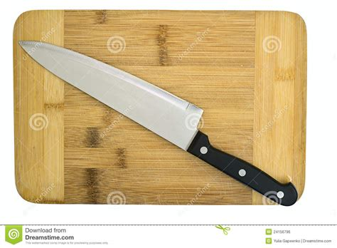 kitchen cutting knives kitchen knife lying on a cutting board royalty free stock image image 24156796