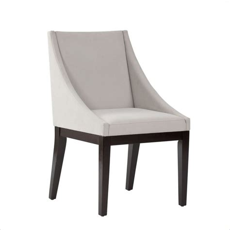 gray velvet dining chairs standard furniture karma dining side chair in gray velvet