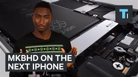 the next iphone mkbhd on the next iphone tech and