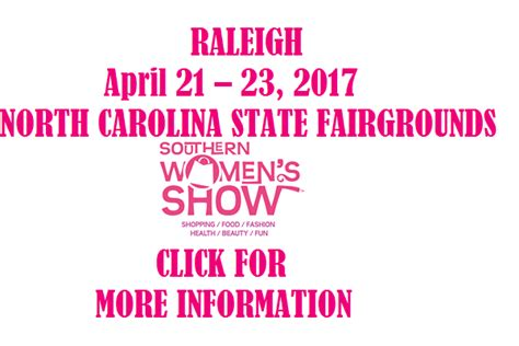 southern women s show raleigh s