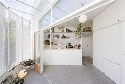 Apartment With A Retractable Interior Wall by Small And Apartment Features A Retractable Wall