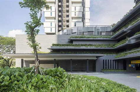 singapore s solar powered sky terrace residential towers