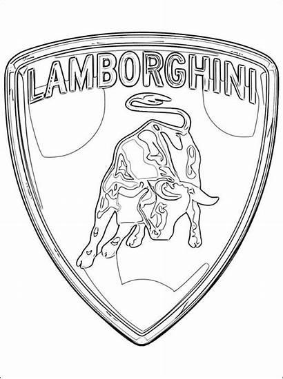 Cars Coloring Pages Lamborghini Lamborgini
