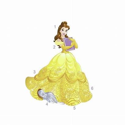 Princess Disney Belle Giant Wall Decal
