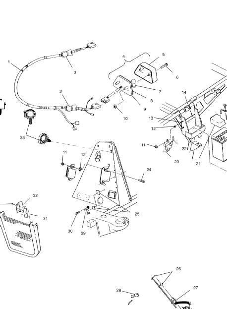 Polari 425 Magnum Wiring Diagram by Parts For 1998 Polaris 425 Magnum 4x4 Wiring Diagram And