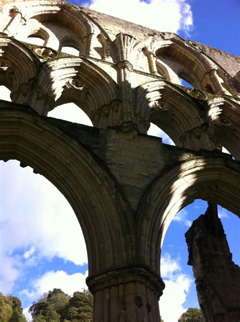 Arches at Rievaulx Abbey | Days out in yorkshire, North ...