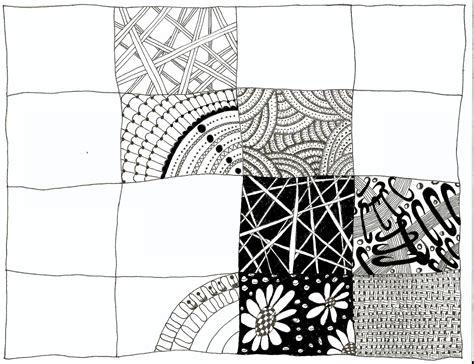 zentangle patterns zendoodle parchment pattern zentangles doodles sampler zen doodle craft things drawings allthingsparchmentcraft