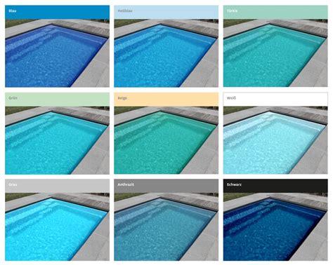 Welche Farben Ergeben Türkis by Beliebte Poolfarben In Der 220 Bersicht Swimmingpool In