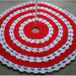 all stitches crochet christmas tree skirt pattern pdf 043a allstitches patterns on artfire