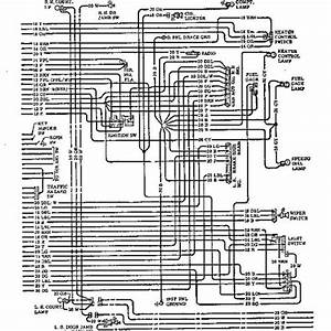 1971 Chevrolet Wiring Diagram