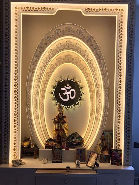 pin  sonal ranjan  temple backthrow temple design  home pooja room door design room
