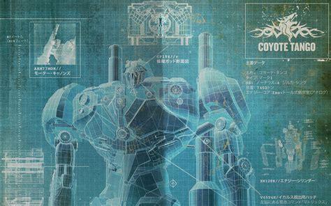 pacific rim giant robot blueprint schematic mecha