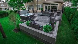 amenagement terrasse avec spa veglixcom les dernieres With jardin paysager avec piscine 11 amenagement paysager verdeko paysagement