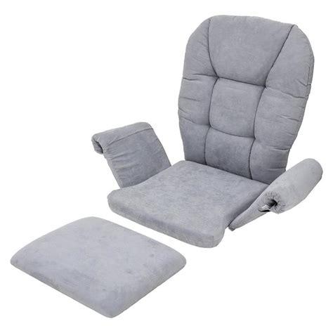 gray bench cushion shermag universal cushion set gray ebay