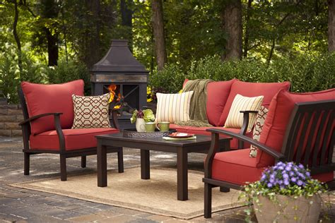 Outdoor Patio Furniture by Best 25 Lowes Patio Furniture Ideas On Deck