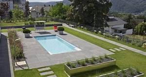 moderner privatgarten mit schwimmbad garten schellevis With französischer balkon mit garten schwimmbad