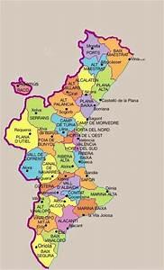El Blog De Irene   Comarques De La Comunitat Valenciana