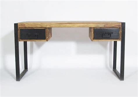 bureau bois et metal 42 idées déco de bureau pour votre loft