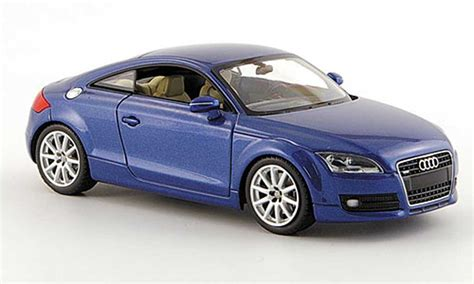 audi tt blue met  minichamps diecast model car